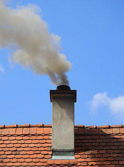 Chimney, Smoke, Fireplace, Pollution, Exhaust Gases
