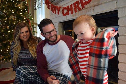 Christmas, Family, Family Christmas, Happy, People