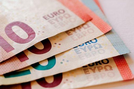 Money, Euro, Finance, Currency, Cash, Financial