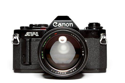 Analog, Canon, Lens, Hipster, Photography, Camera