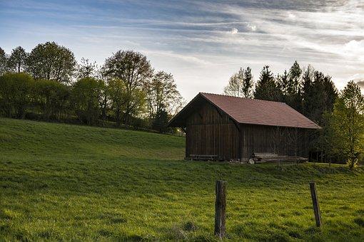 Hut, Rural, Home, Building, Old, Agriculture, Landscape