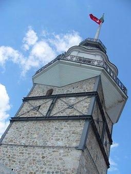 Maiden's Tower, Leander's Tower, Turkey, Tower, Tourism