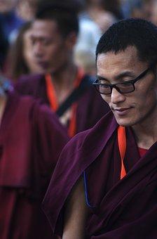Tibet, Monk, Buddhism, Religion, Tibetan, Asia