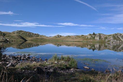 Lake, Alps, Mountain, Nature, Landscape