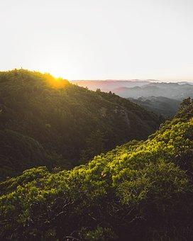 Mountains, Mount, Tamalpais, Landscape, Travel, Nature
