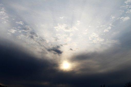 Sky, Clouds, Sunset, Sunrise, Blue, Clouds Sky, Nature