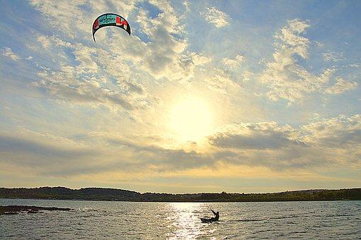 Kite, Sea, Adriatic, Nature, Beach, Landscape, Blue
