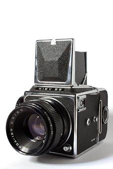 Camera, Analog, Retro, Hipster, Old, Vintage, Nostalgia