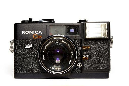 Camera, Analog, Hipster, Lens, Old Camera, Photograph