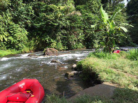 Bali, Asia, Travel, Rafting Tour, Boot, Dinghy
