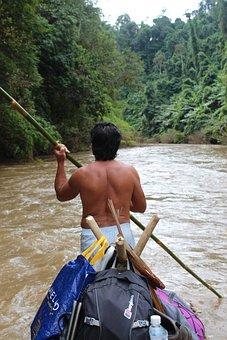 River, Rafting, Thailand, Travel, Water, Boat, Raft