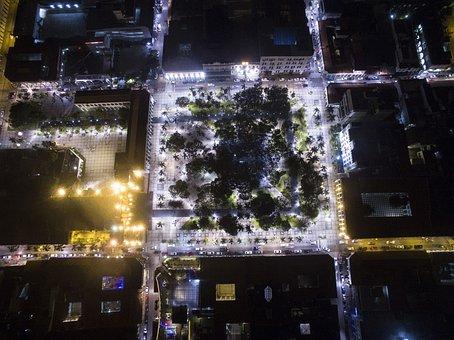Santa Cruz, Plaza, Photo Air