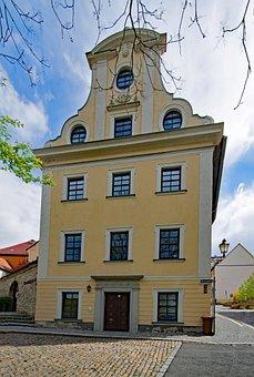 Zeitz, Saxony-anhalt, Germany, Old Town, Old Building