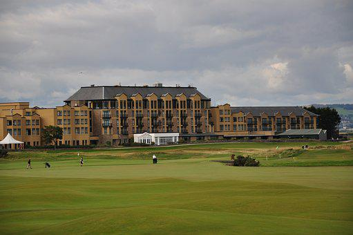 Scotland, St Andrews, Golf, Golf Course, Old Course