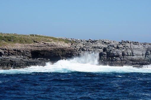 Seascapes, Nature, Wave, Travel, Ocean, Sea, Summer