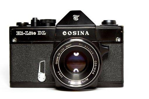 Camera, Analog, Hipster, Vintage, Lens, Old Camera