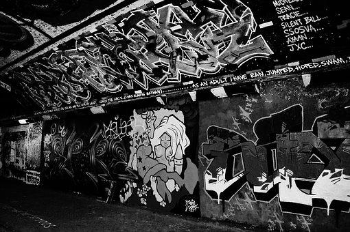 Graffiti, Urban, Street, Design, Texture, Wall, Grunge