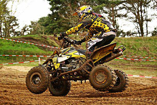 Motocross, Quad, Atv, Enduro, All-terrain Vehicle