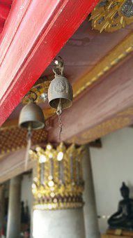 Bell, Buddhist Monastery, Out Of Focus