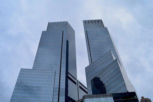 Skyscrapers, Manhattan, Nyc, New, City, Building, York