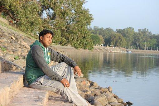 Sukhna Lake, Chandigarh, Water, Morning, India, Lake