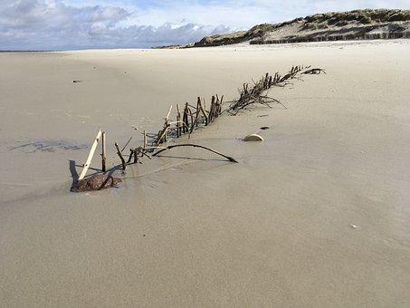 North Sea, Beach, Sand, Coast, By The Sea, Landscape