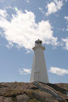 East Coast, Coastline, Lighthouse, Architecture