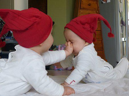 Children, Twins, Family, Child, Cute, Two, Young, Baby