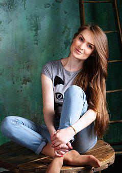 Girl, Photoshoot, Armchair, Girls, Beautiful, Hair