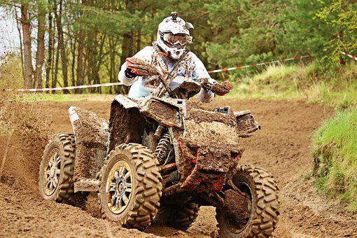 Quad, Enduro, Motorsport, Cross, Motocross, Motorcycle