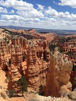 Utah, Bryce, Canyon, National, Park, Usa, Hoodoo
