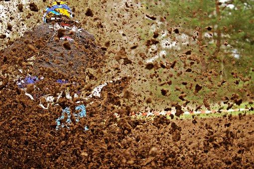 Motocross, Mud, Sport, Enduro, Quad, Muddy, Motorsport