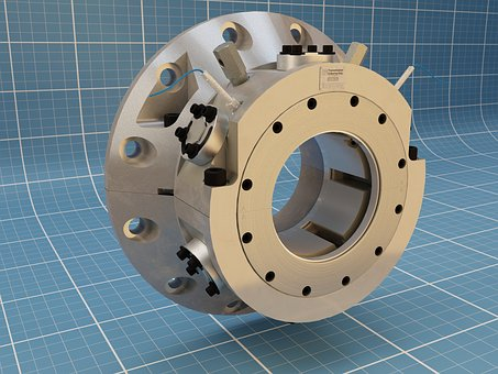 Tilt Pad, Bearing, Industrial, Machine, Components