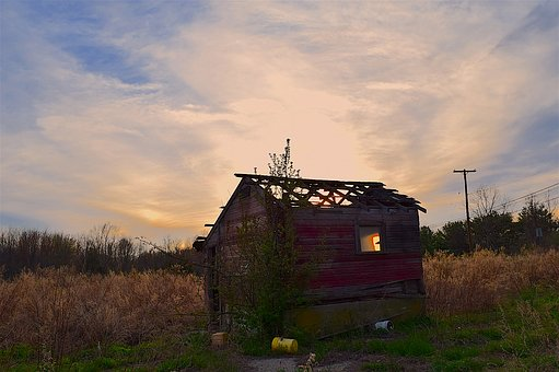 Shack, Run Down, Rural, Wooden, Dilapidated, Old
