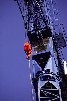 Crane, Construction, Site, Building, Industrial