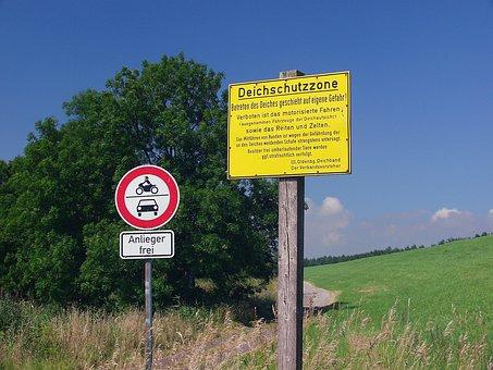 Dyke, North Sea, Europe, Germany, Dike, Protection