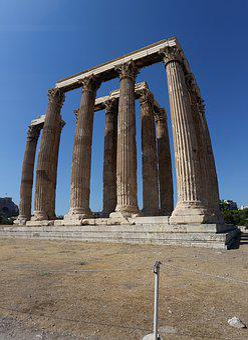 Columns, Rome, Architecture, Italy, Ancient, Landmark