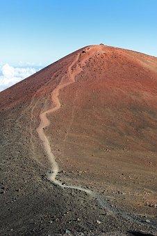 Mountain, Peak, Summit, Sacred, Mauna Kea, Hawaii, High
