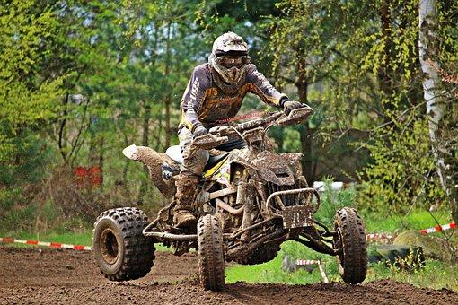Quad, Motocross, Motocross Ride, Cross