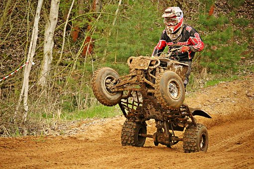 Quad, Race, Motocross, Enduro, Motorcycle, Cross, Atv