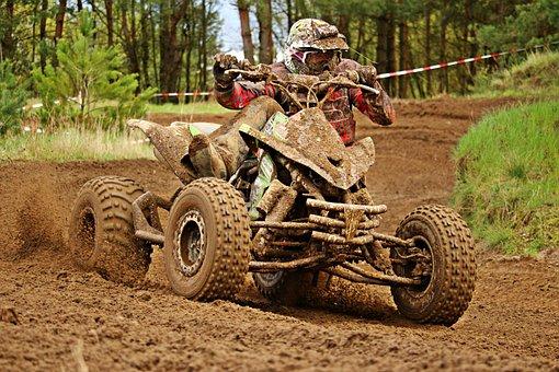 Cross, Motorsport, Quad, Race, Atv, Motocross
