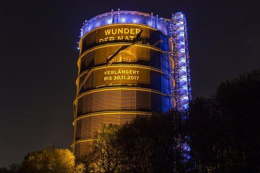 Gasometer, Oberhausen, North Rhine Westphalia