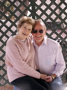 Old Couple, Old, Senior, Couple, Happy, Love