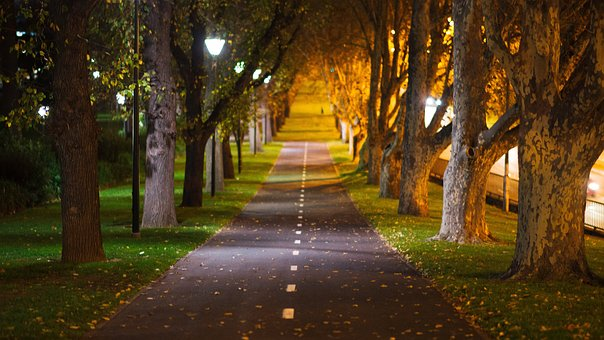 City, Melbourne, Australia, Bike, Path, Pedestrian