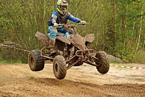Motocross, Cross, Quad Race, Quad, Atv, Racing