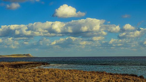 Rocky Coast, Sea, Landscape, Nature, Scenery, Sky