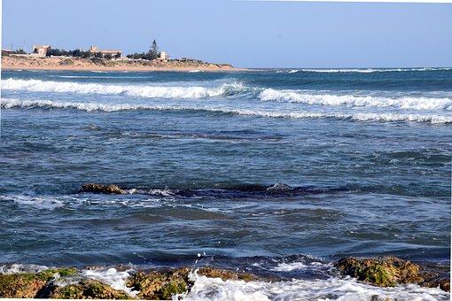 Sea, Mediterranean, Coast, Beach, Booked, Holiday