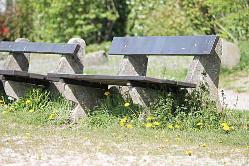 Benches, Rest, Recovery, Break, Hiking, Nature, Idyllic