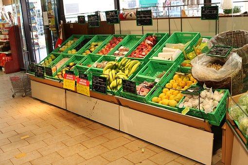 Business, Fruit, Vegetables, Eat, Market, Fruits, Green