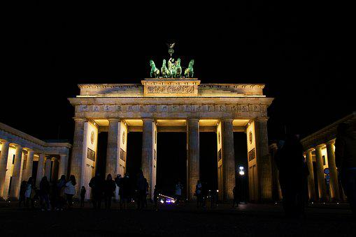 The Brandenburg Gate, Berlin, Germany, Europe